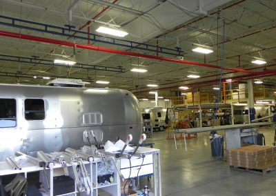 Airstream industrial electric project